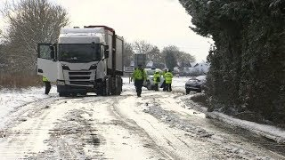 Four dead after heavy snowfall hits UK   ITV News
