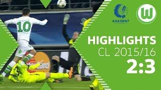 Draxler & Kruse zaubern   KAA Gent - VfL Wolfsburg 2:3   Highlights   UEFA Champions League 2015/16