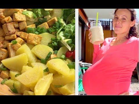 VEGAN & 9 MONTHS PREGNANT MEALS