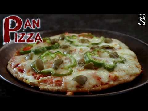 Bhakhri Pizza | Homemade Pizza | Pan Pizza Recipe | No Oven Pizza Recipe by Shree's Recipes