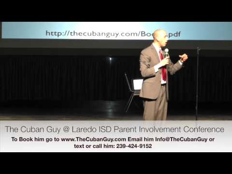 Latino/Hispanic Parent Involvement Conference Keynote Speaker: Latino Parents Motivational Speaker