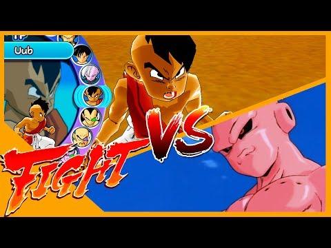 Uub VS Kid buu Dragon ball Z Budokai 3 Duelo - VS