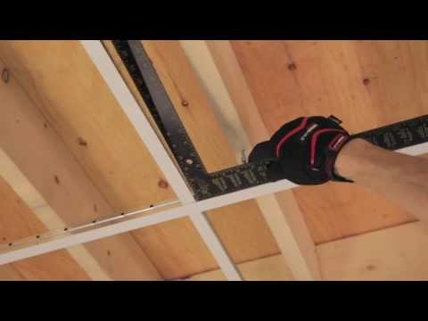 RONA - How to Install Suspended Ceiling