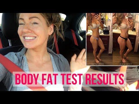 BODY FAT TEST RESULTS | ANNA VICTORIA