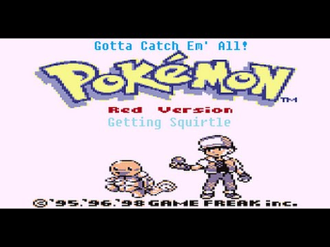 Pokémon Red (Gotta Catch 'Em All!): Getting Squirtle