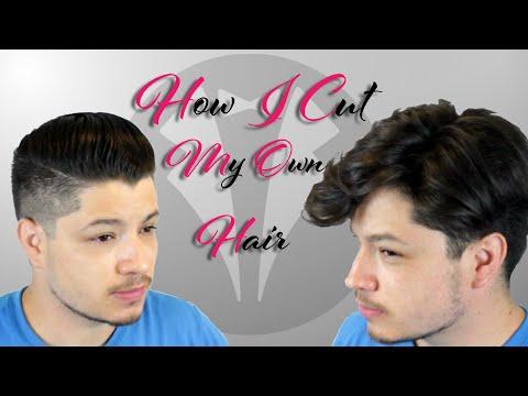 How I Cut My Own Hair | Undercut | Short Sides Long Top |
