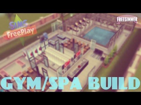 Sims Freeplay Gym/Spa Build
