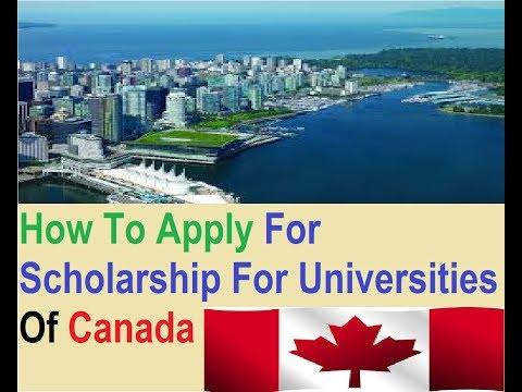 Study In Canada,Get Benefit Of Scholarship For Canada,Top Universities