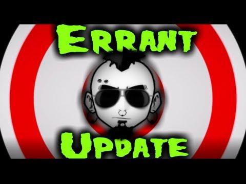 Errant Update EP 26: Giveaway winner and this weeks program