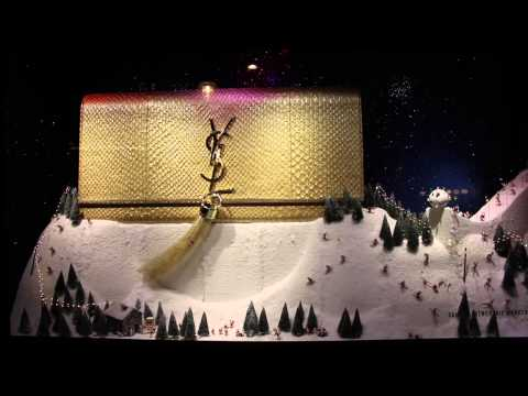 Selfridges Christmas Window - Louis Vuitton purse