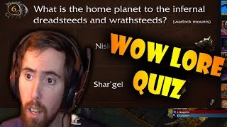 Asmongold Does The Ultimate Lore Quiz for World of Warcraft by GhostPanda