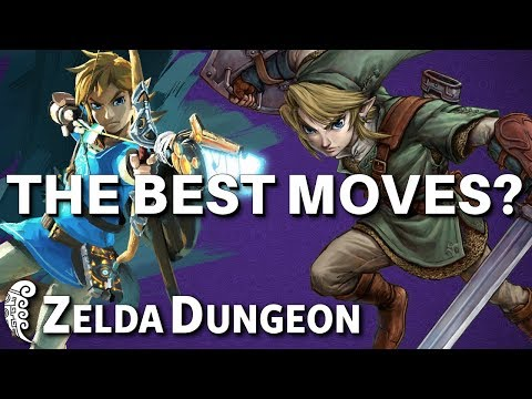 Which Link Has the Best Move Set? - Zelda Challenge