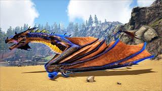 ARK: Ragnarok Mod #14 - Mình Tiến Hóa Rồng Prime Wyvern Lên Lightning Wyvern, Hơn 500 Triệu Máu =))