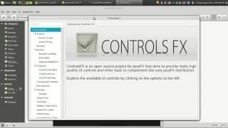 Attractive javaFX application implementing jfoenix jar and