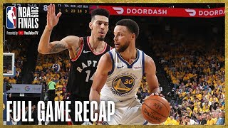 Download RAPTORS vs WARRIORS | Toronto Knocks Down 17 Three-Pointers | NBA Finals Game 3 Video