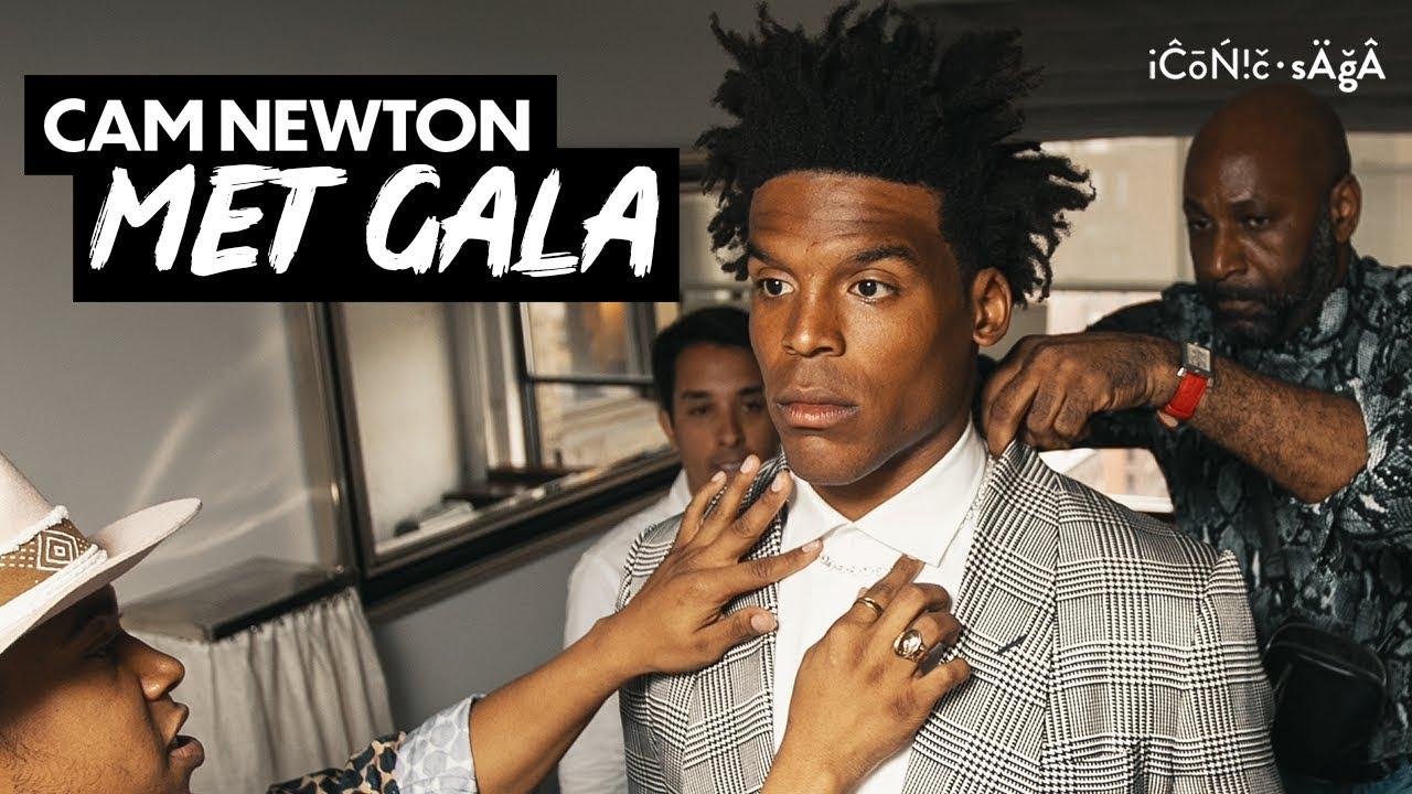 my met gala outfit | Cam Newton Vlogs