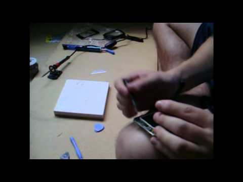How to Replace/Repair/Fix iPod touch audio/Headphone jack Part 2