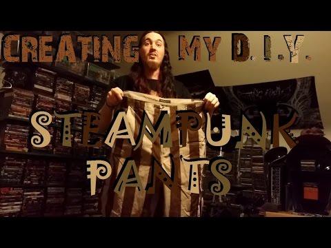 Creating My DIY Steampunk / Wastelander Pants