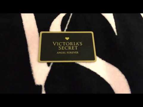 Victoria's secret/pink credit card/ANGEL FOREVER (FINALLY)