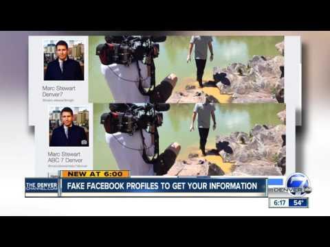 Beware of fake Facebook profiles posing as people you know
