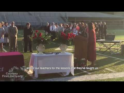 "Moriah Bridges – Forced to ""edit"" her graduation speech by school superintendent"
