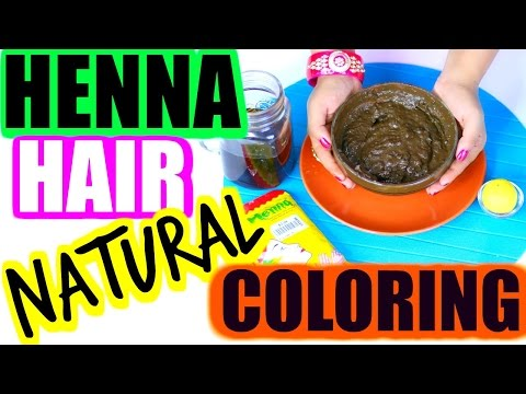 How To Mix Henna For Hair -Cover Gray hair To Black Naturally   SuperPrincessjo