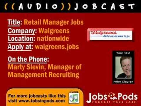 All about Store Manager Jobs with Walgreens