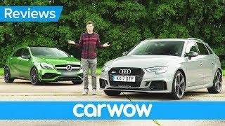 New Audi RS 3 2018 review - better than a Mercedes-AMG A45? | Mat Watson Reviews