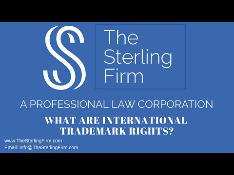 WHAT ARE INTERNATIONAL TRADEMARK RIGHTS?