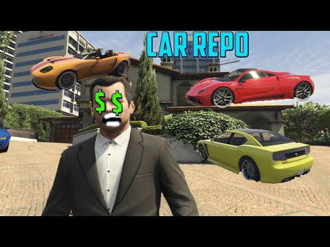 GTA 5 - Simeon Car Reposition Jobs [Mod Showcase]