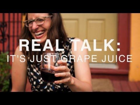 It's Just Grape Juice : The Problem With Wine Appreciation