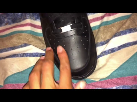 How to get creases out of NIKE Air Force 1