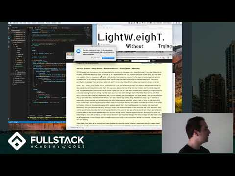 Stackathon Presentation: Learn Without Trying