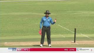 Nepal Vs Hongkong Wcl Cricket Full Highlight 2017 10 13