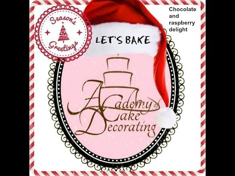 Let's bake a Chocolate & raspberry delight