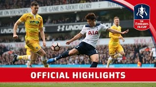 Tottenham Hotspur 6-0 Millwall - Emirates FA Cup 2016/17 (QF) | Official Highlights
