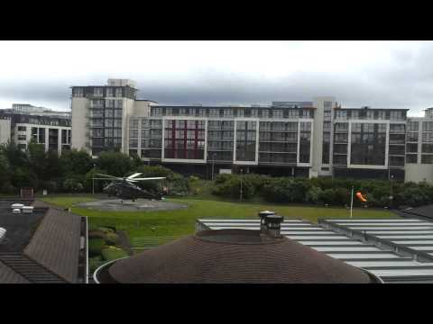 take off from Tallaght Hospital