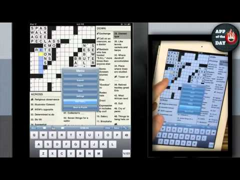 App of the Day: NYTimes Crossword