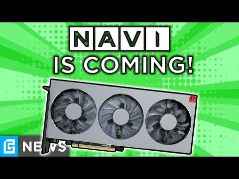 Navi STILL Coming This Year, Nvidia CEO Trashes AMD!