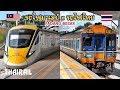 Thai & Malaysian Railway: Train arrivals and departures at Padang Besar Station