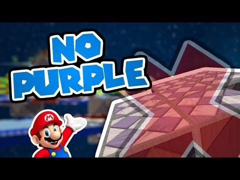 Flip-Swap Without Touching PURPLE?! Momentum Glitch Challenge! (Super Mario Galaxy 2)