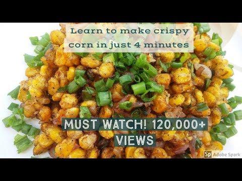 Crispy Corn Chinese - Recipe