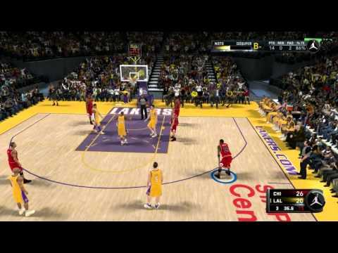 NBA 2K11 - Michael Jordan vs Kobe Bryant - Create A Legend Mode