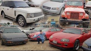 Abandoned Range Rover, Nissan GTR, Supra, Audi In Dubai | Dubai ka kabar