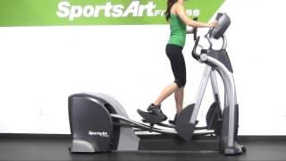 SportsArt Fitness Ellipticals