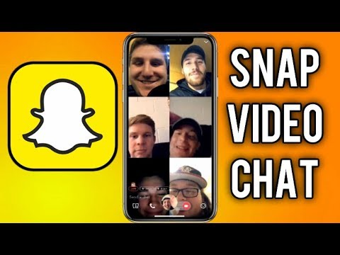 How to Use NEW Snap Group Video Chat