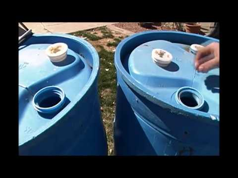 55 Gallon Water Storage Barrel Cleaning/Sanitation|the_survival_game