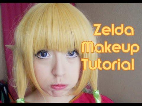 Zelda - Skyward Sword makeup tutorial (❁´3`❁) ♡
