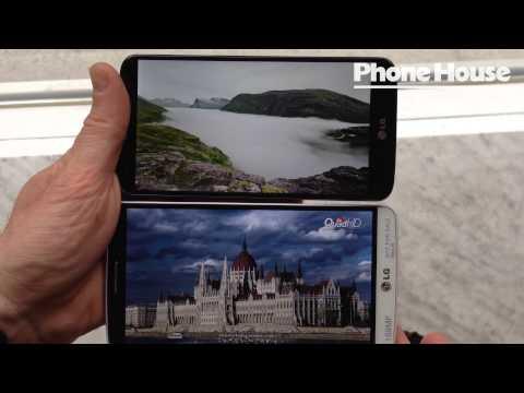 LG G2 vs LG G3 Vi jämför skärmarna