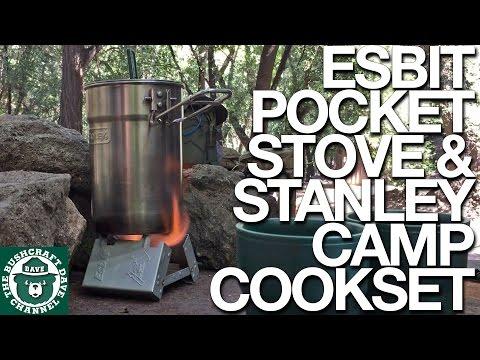 Easy Trail Coffee: Esbit Pocket Stove & Stanley Camp Cook Set